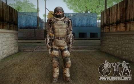 COD MW3 Heavy Commando para GTA San Andreas