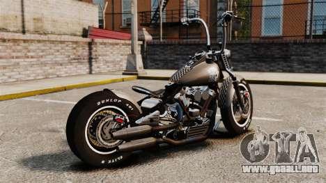 Harley-Davidson Knucklehead v2 para GTA 4 left