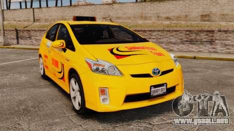 Toyota Prius 2011 Adelaide Taxi para GTA 4