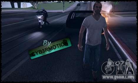 Trevor, Michael, Franklin para GTA San Andreas séptima pantalla
