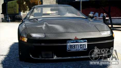 Mitsubishi GTO Twin Turbo 1992 para GTA 4 vista interior