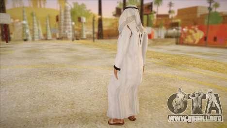 Jeque Árabe para GTA San Andreas segunda pantalla