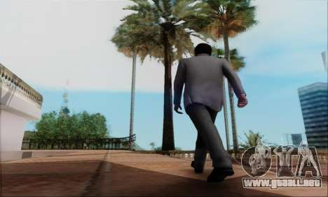 Trevor, Michael, Franklin para GTA San Andreas sucesivamente de pantalla