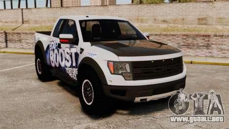 Ford F-150 SVT Raptor 2011 ECOBoost para GTA 4
