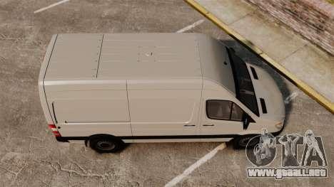 Mercedes-Benz Sprinter 2500 Delivery Van 2011 para GTA 4 visión correcta