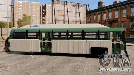 Autobús blindado para GTA 4 left