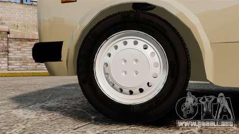 Zastava Yugo 128 para GTA 4 vista hacia atrás