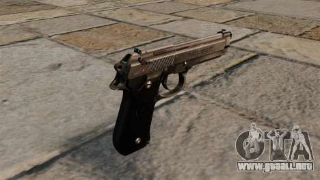 Pistola semiautomática Beretta 92 para GTA 4 segundos de pantalla