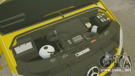 Mercedes-Benz Sprinter 2500 Delivery Van 2011 para GTA 4 vista hacia atrás