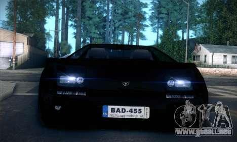 Lamborghini Diablo VT6.0 para la vista superior GTA San Andreas