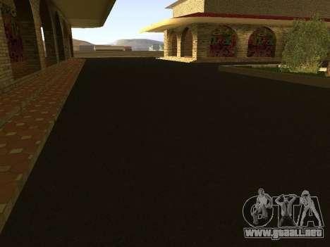 Estación de ferrocarril Las Venturas v1.0 para GTA San Andreas sucesivamente de pantalla
