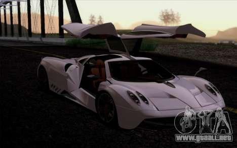 FF SG ULTRA para GTA San Andreas sucesivamente de pantalla