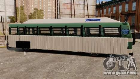 Autobús blindado para GTA 4 visión correcta