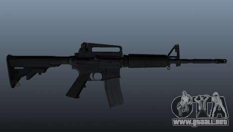 Carabina M4 para GTA 4 tercera pantalla