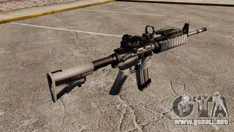 Automática M4 rojo Dop v1 para GTA 4 segundos de pantalla