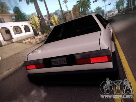 Volkswagen Voyage GL 94 2.0 para visión interna GTA San Andreas