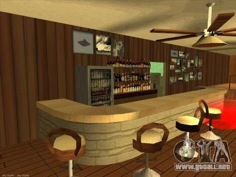 Nuevas texturas para interior para GTA San Andreas segunda pantalla