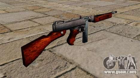 Subfusil Thompson M1a1 para GTA 4 segundos de pantalla