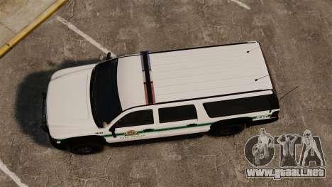 GTA V Declasse Granger Park Ranger para GTA 4 visión correcta