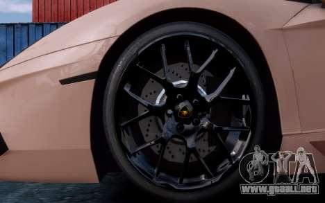 Lamborghini Aventador LP760-4 Oakley Design para GTA 4 vista superior