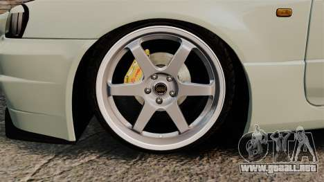 Nissan Skyline GT-R V-Spec II Mk.X [R34] para GTA 4 vista hacia atrás