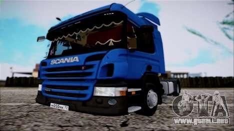 Scania P400 para la visión correcta GTA San Andreas