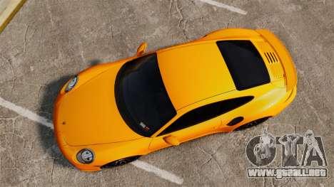 Porsche 911 Turbo 2014 [EPM] para GTA 4 visión correcta
