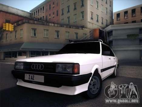 Audi 80 B2 v2.0 para la vista superior GTA San Andreas