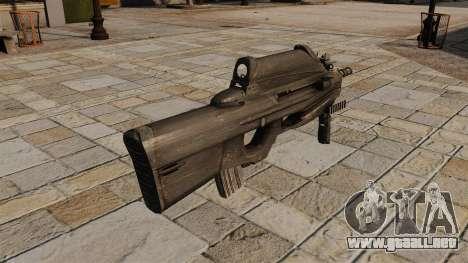 Rifle de asalto FN F2000 para GTA 4 segundos de pantalla