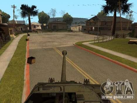 M18-Hellcat para visión interna GTA San Andreas