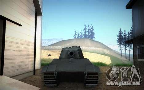 E-75 Tiger III para la visión correcta GTA San Andreas