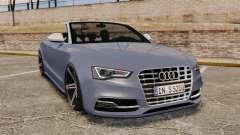 Audi S5 Convertible 2012