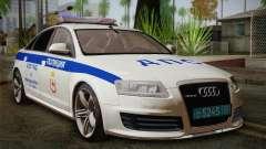 Audi RS6 Police para GTA San Andreas