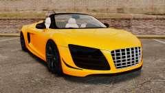 Audi R8 GT Spyder para GTA 4