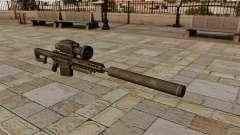 Rifle de francotirador Barrett M82A1 con silenci