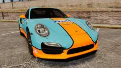 Porsche 911 Turbo 2014 [EPM] Gulf para GTA 4