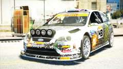 Ford Focus RS Monster World Rally Team WRC para GTA 4