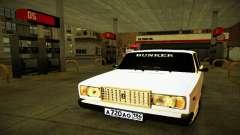 BUNKER VAZ 2107 para GTA San Andreas