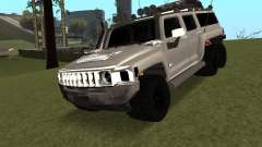 Hummer H3 6x6 para GTA San Andreas