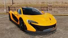 McLaren P1 2014 [EPM] para GTA 4