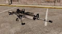 Automática M4 rojo Dop v1 para GTA 4