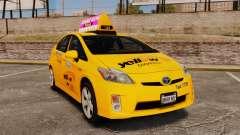 Toyota Prius 2011 Adelaide Yellow Taxi para GTA 4