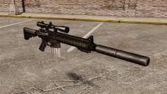El rifle de francotirador SR-25
