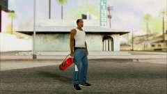 Extintor nuevo 2 para GTA San Andreas