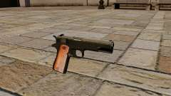 Pistola Colt M1911 Black Edition para GTA 4