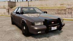 GTA V Unmarked Cruiser Police