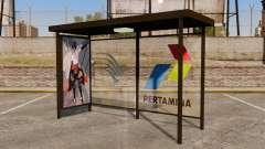 Paradas de autobús Naruto