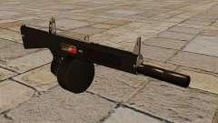 La escopeta AA-12 con un silenciador