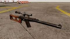 Rifle de francotirador VSS Vintorez