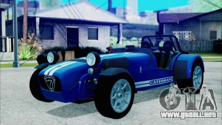 Caterham R500 Superlight 2008 para GTA San Andreas